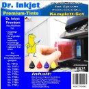 ER25 - Dr. Inkjet Komplett 250ml Set Premium Pigmentierte...