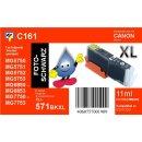 C161 - TiDis XL Ersatzpatrone schwarz mit 11ml Inhalt -...