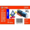 C162 - TiDis XL Ersatzpatrone cyan mit 11ml Inhalt -...