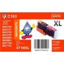 C163 - TiDis XL Ersatzpatrone magenta mit 11ml Inhalt -...
