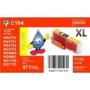 C164 - TiDis XL Ersatzpatrone yellow mit 11ml Inhalt -...