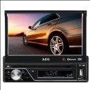 AEG AR 4026 DVD Auto-Radio in schönen schwarz
