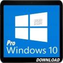 Microsoft Windows 10 Professional 32/64bit - DOWNLOADDATEI -
