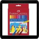 FABER-CASTELL Filzstifte 1 Pack = 24 Stück Packung