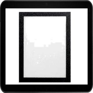 DURABLE DURAFRAME - Selbstklebender 9x13 cm Bilderrahmen in schwarz oder silber