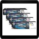 HP973X Multipack - 1 Set Original Druckerpatronen mit...