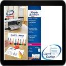 Avery Zweckform C32026-10 Premium Visitenkarten (100...