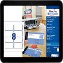 Avery Zweckform, C32015-10, 10 Blatt, Visitenkarten,...