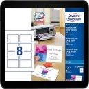 Avery Zweckform C32028-10 Premium Visitenkarten (80...
