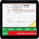 sigel Formularbuch SD121 Quittung mit MwSt. separat...