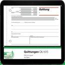 sigel Formularbuch QU615 Quittung, MwSt. separat...