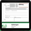 sigel Formularbuch QU619 Quittung, MwSt. separat...