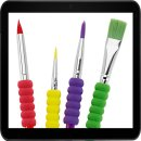 Faber-Castell 481600 Pinselset 4-teilig mit...