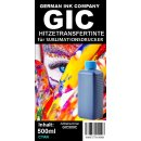 GIC - Hitzetransfertinte | Sublimationstinte in 500ml...