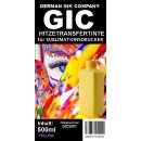 Yellow GIC - Hitzetransfertinte   Sublimationstinte in...