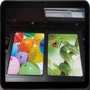 Kartendrucker Kartenschublade - Drucktray inkl. 10 Inkjet...