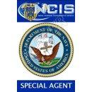 Navy CIS Ausweis mit Bild und beidseitig bedruckt