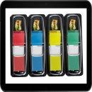 1,3 x 4,3 cm | 4x 35 Streifen Post-it® Index Mini...