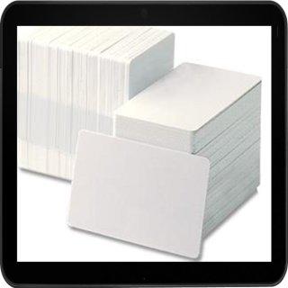 100 weiße Dr.Inkjet PVC Karten für Kartendrucker - beidseitig bedruckbar!