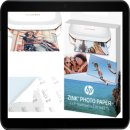 HP ZINK® Sprocket Fotopapier mit selbstklebender...