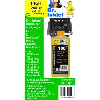 IRP408 - Dr.Inkjet Druckkopfreinigungsset für HP932/933 & HP950/951 Druckerpatronendruckköpfe