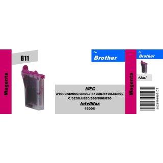 B11 - LC600M - magenta - TiDis Ersatzpatrone mit 13ml Inhalt
