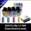 Schlauchsystem: CISS Dr.Inkjet für LC900 inkl. 400ml Premium Nachfülltinte