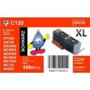 C120 - PGI-550BKXL - schwarz - TiDis Ersatzdruckerpatrone...