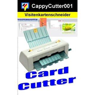 Visitenkarten Schneidemaschine - Card Cutter für die unkomplizierte Erstellung von Randschönen Visitenkarten!