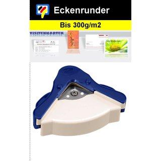 Eckenrunder- damit wirds rund! Für Papier bis 300g/m2 - Größe S - 5mm