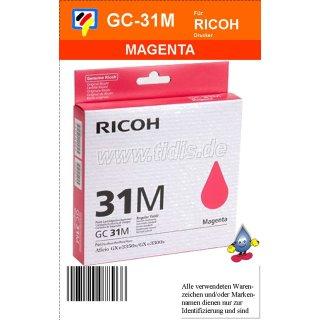 405690 - magenta - Ricoh Druckerpatrone mit 1560 Seiten Druckleistung nach ISO