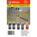 CISS PGI520 + CLI521 CMYK Dauerdrucksystem für...