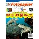 SPP158 - A3 Glossy Papier mit 180g/m2 - weiß und...