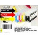 IRP951MP - Neu H950/951 CISS / Easyrefillpatronen Set - ohne Chips! Es werden die Originalchips benötigt!