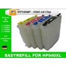 H940 CISS / Easyrefillpatronen Set mit Chip