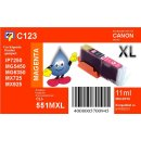 C123 - CLI-551MXL - magenta - TiDis Ersatzdruckerpatrone...
