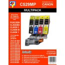 C529MP - Multipack - 5 TiDis Ersatzdruckerpatronen...