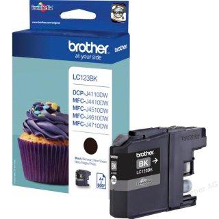 LC123BK Brother Original-Druckerpatrone mit 600. Seiten Druckleistung (schwarz)