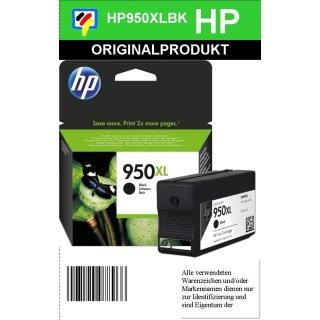 HP950XL - Original CN045AE - schwarz - Druckpatrone Nr. 950XL mit 2.300 Seiten Druckleistung nach Iso