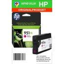 HP951MXL - Original CN047AE - magenta - Druckpatrone Nr. 951M mit ca. 1.500 Seiten Druckleistung nach Iso