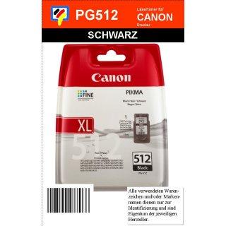 PG512 - schwarz - Canon Original Druckerpatrone mit 15ml Inhalt -2969B001-