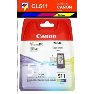 CL511 - color - Canon Original Druckerpatrone mit 9ml Inhalt -2972B001-