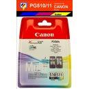 PG510 + CL511 - schwarz + color - Multipack Canon...