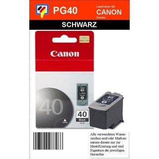 PG40 - schwarz - Canon Original Druckerpatrone mit 16ml Inhalt -0615B001-