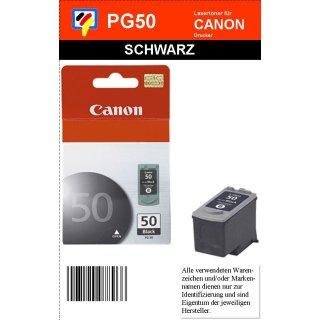 PG50 - schwarz - Canon Original Druckerpatrone mit 22ml Inhalt -0616B001-