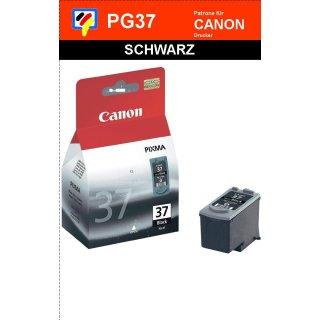 PG37 - schwarz - Canon Original Druckerpatrone mit 11ml Inhalt -2145B001-