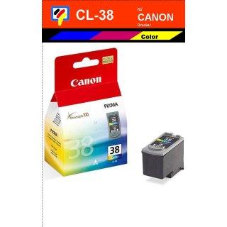 CL38 - color - Canon Original Druckerpatrone mit 9ml Inhalt -2146B001-