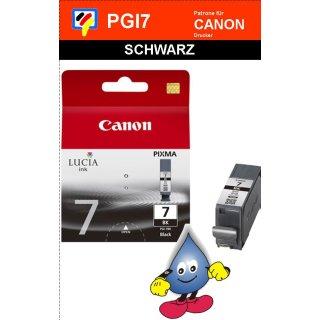 PGI7BK - schwarz - Canon Original Druckerpatrone mit 25ml Inhalt -2444B001-