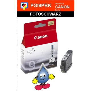 PGI9PBK -fotoschwarz - Canon Original Druckerpatrone mit 14ml Inhalt -1034B001-