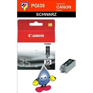 PGI35 -schwarz- Canon Druckerpatrone mit 14ml Inhalt -1509B001-